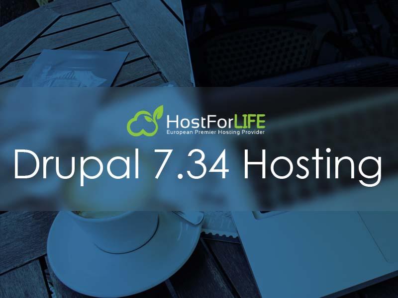 HostForLIFEASP.NET Proudly Launches Drupal 7.34 Hosting