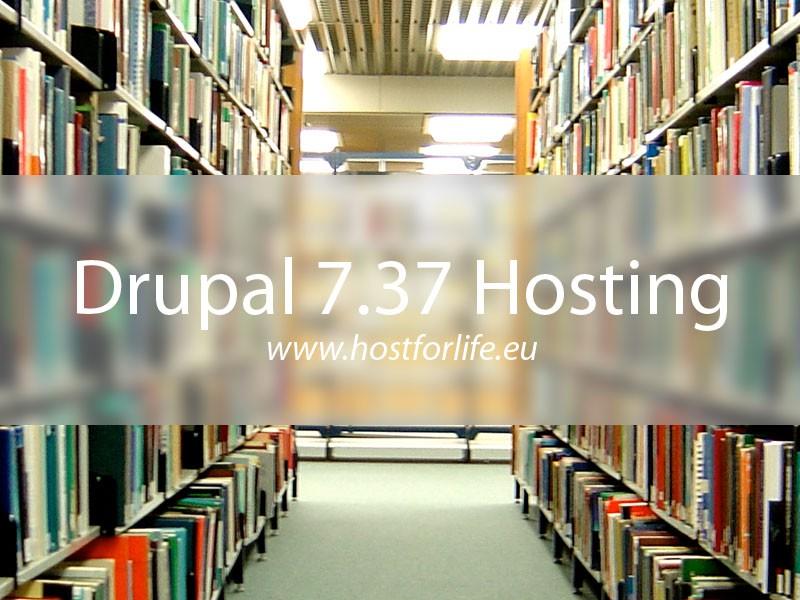 HostForLIFE.eu Proudly Launches Drupal 7.37 Hosting