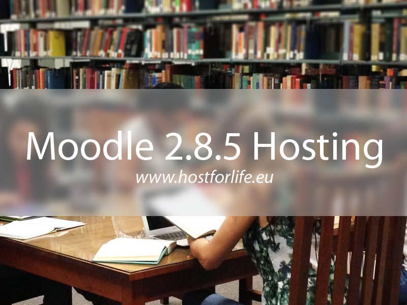 HostForLIFE.eu Launches Moodle 2.8.5 Hosting