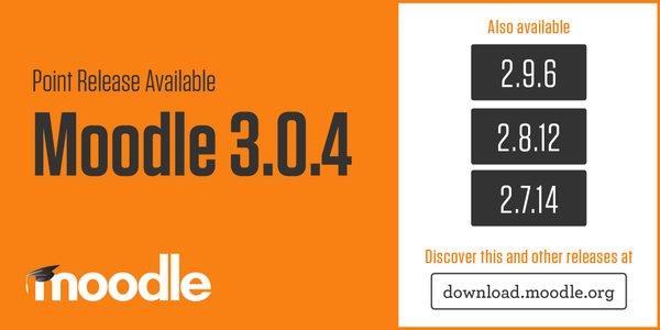 Moodle 3.0.4