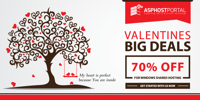 ASP.NET 5 Hosting – Valentine's Day Hosting Promotion