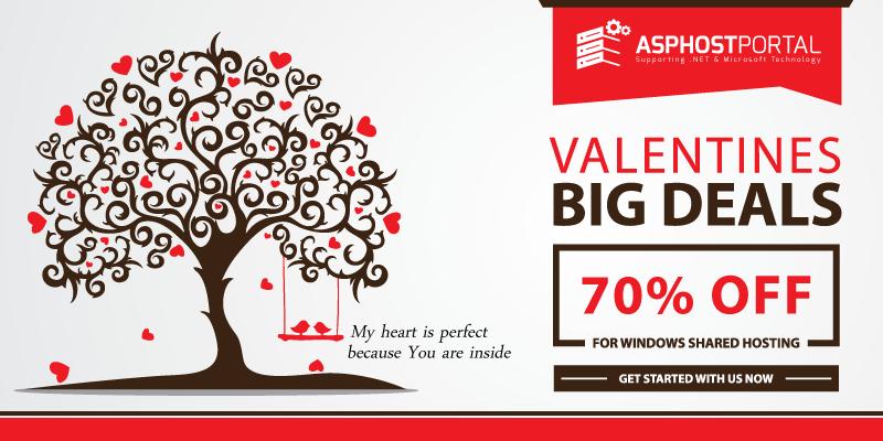 ASP.NET 5 Hosting – Valentine's Day Hosting Promotion