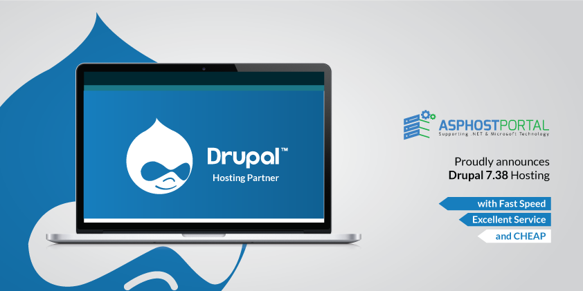 ASPHostPortal.com Announces Drupal 7.38 Hosting Solution