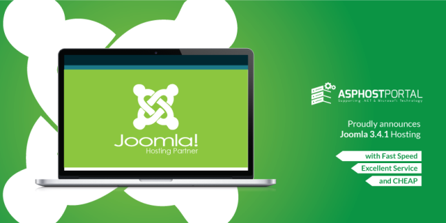 ASPHostPortal.com Announces Joomla 3.4.1 Hosting Solution