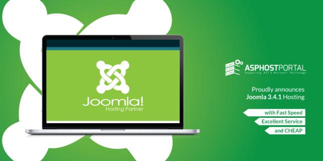 ASPHostPortal.com Announces Joomla 3.4.1 Hosting Solution