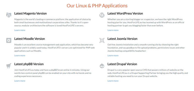 linux php app