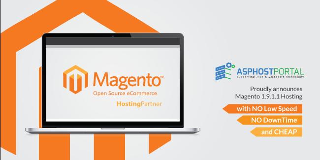 ASPHostPortal.com Announces Cheap Magento 1.9.1.1 Hosting Solution