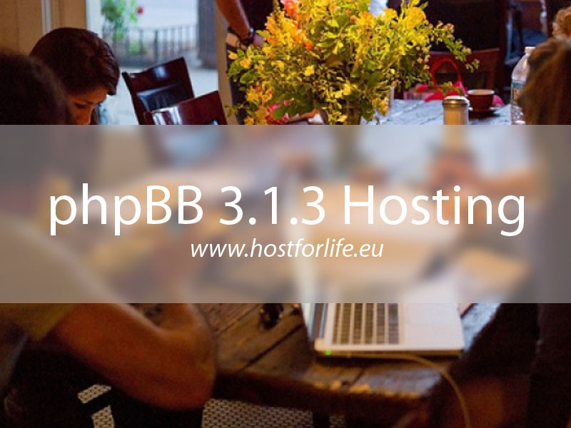 HostForLIFE.eu Launches Cheap phpBB 3.1.3 Hosting