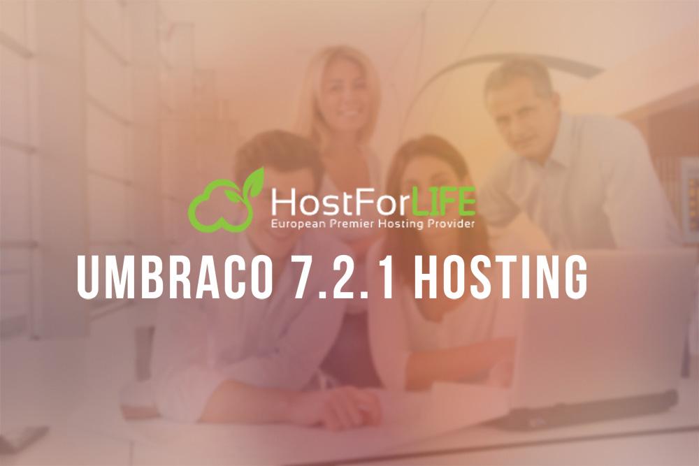Umbraco 7.2.1 Hosting